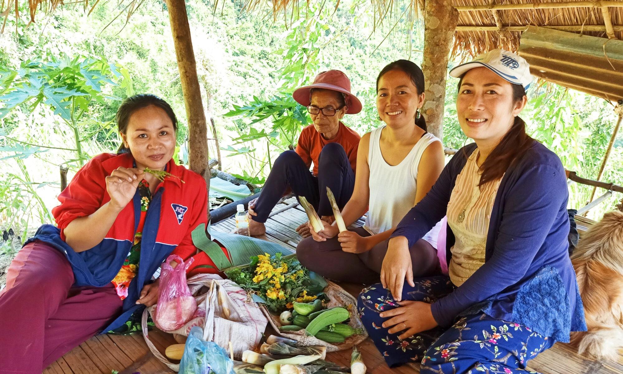 Khmu Food - Luang Prabang - Laos